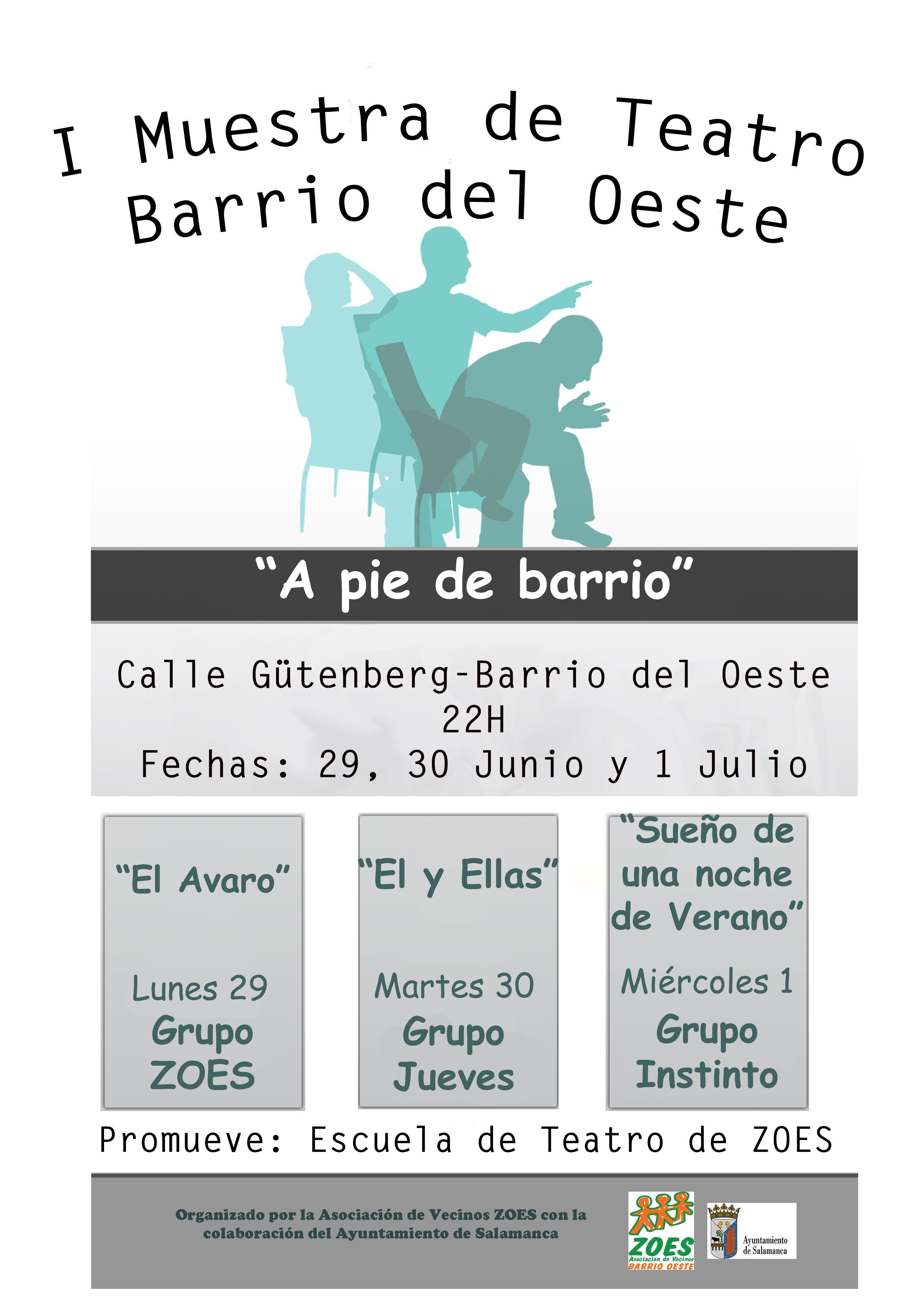I Muestra de Teatro Barrio del Oeste
