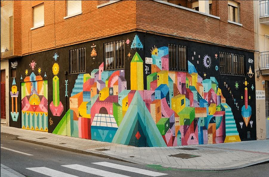 Barrio Utopía, por H101