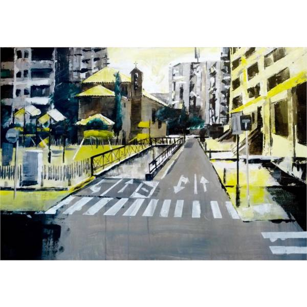 Primer Premio Año 2015 Concurso Pintura al Aire Libre