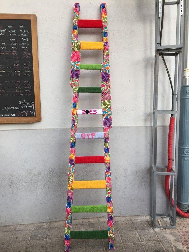 La nueva escalera de Quedamos y Punto.