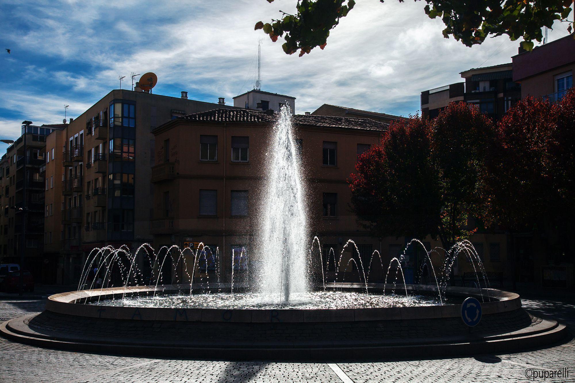 Plaza Oeste. Otoño. Foto de Puparelli