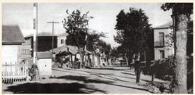 Antiguo cruce Avda Italia con Avd Portuga, y paso a nivel