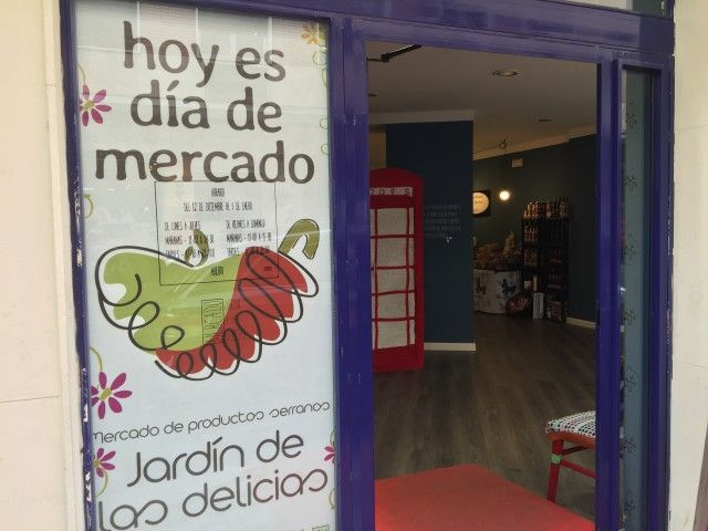 Entrada al Jardín de las Delicias