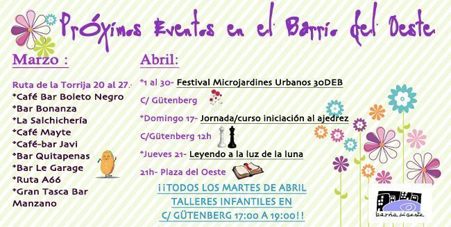 Photo of Eventos Próximos por el Barrio del Oeste