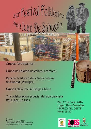 Festival Folklórico en el Barrio del Oeste