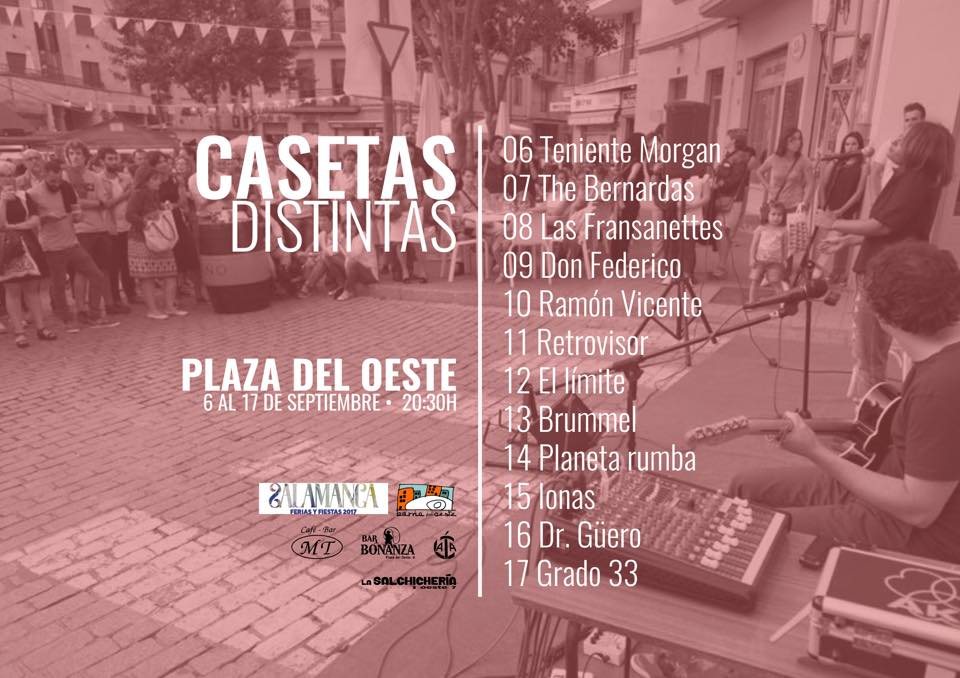 Photo of De casetas por el Barrio del Oeste. Ferias de Salamanca