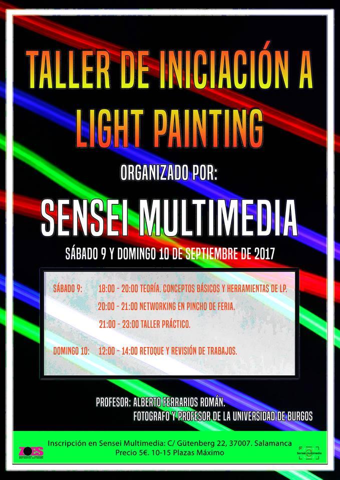 Taller de iniciación a Light Painting
