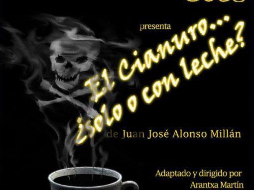 """""""El cianuro… ¿solo o con leche?"""", estreno teatral en el Barrio del Oeste"""