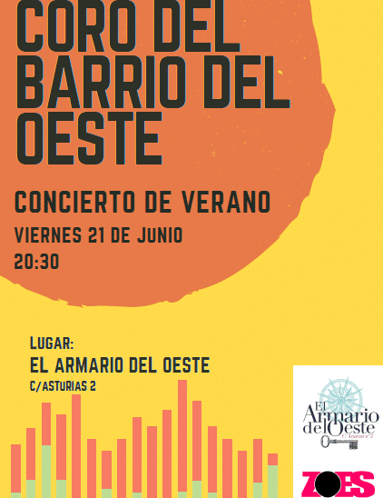 Photo of Concierto de Verano. Coro del Barrio en la tienda el Armario del Oeste