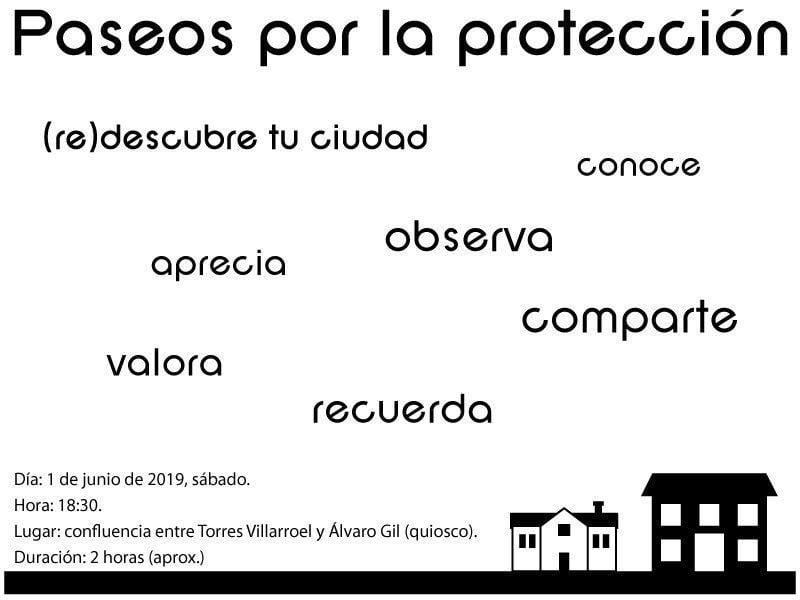 Photo of Paseando por la protección. Ciudadanos por la defensa del patrimonio. Vivir la ciudad de Radio Oeste