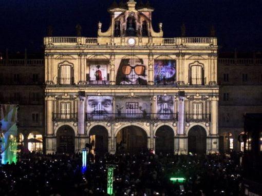 El arte y la luz encienden de nuevo Salamanca