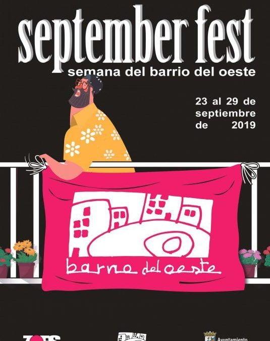 SeptemberFest Semana del Barrio del Oeste del 23 al 29 de septiembre