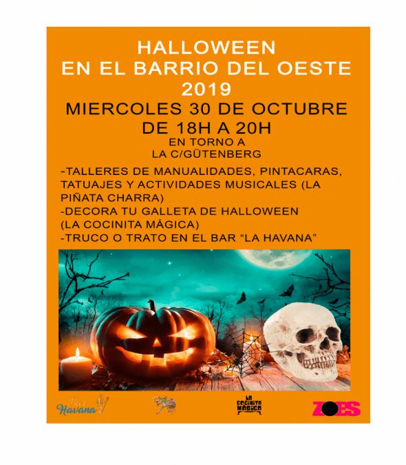 FIESTA DE HALLOWEEN 30 de Octubre
