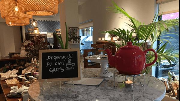 Carreto Café y Té en `Dime mi niño´