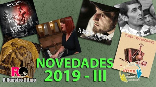 23 Novedades 2019 III – A Nuestro Ritmo