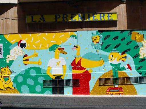 Galería urbana Barrio del Oeste