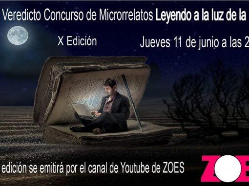 """Concurso de microrrelatos """"Leyendo a la luz de la luna"""" 2020"""