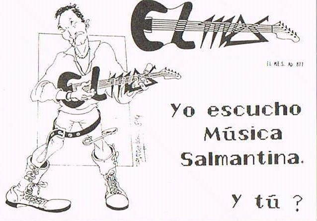 Pegatinas que vendíamos en 1989 para financiar el boletín El MES.