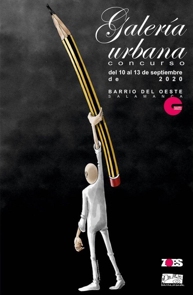 Cartel Concurso Galería Urbana 2020