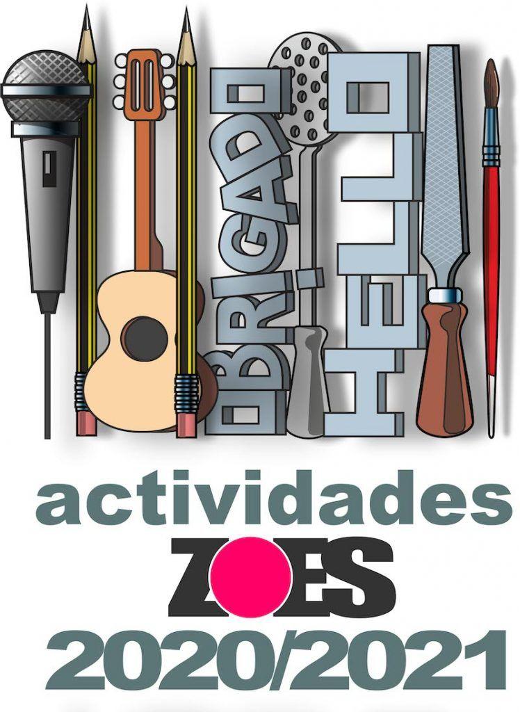 cartel actividades zoes curso 2020-21