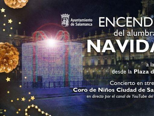 Salamanca enciende este viernes sus luces de Navidad desde la Plaza del Oeste