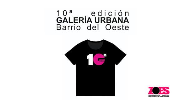 10ª Edición de la Galería Urbana