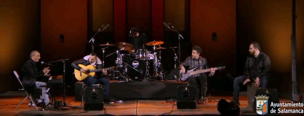 Aaron Quinteto en directo
