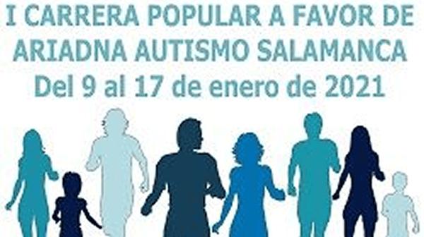 I Carrera Popular a favor de ARIADNA Autismo Salamanca