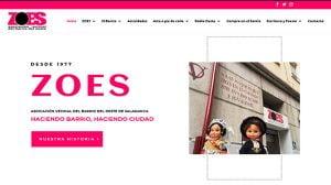 nueva web de ZOES
