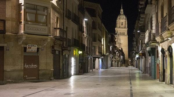 Toque de queda en Castilla y León desde las ocho de la tarde y mientas dure el estado de alarma
