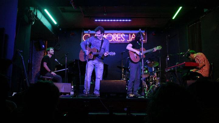 la banda de Fernando Maés  en la sala Clamores (Madrid)