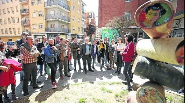 """Exposición """"Abstraidos"""", a pie de calle"""