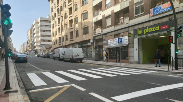 Mejoras en la Avenida de Italia