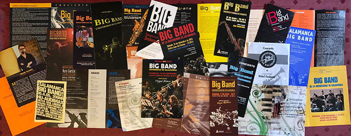 collage conciertos Big Band USAL