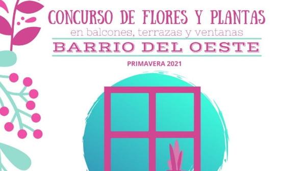 Concurso de Flores y Plantas en Balcones, Terrazas y ventanas