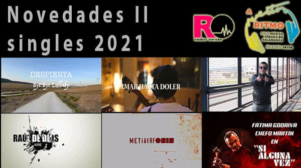 Novedades singles 2021 II – A Nuestro Ritmo 78