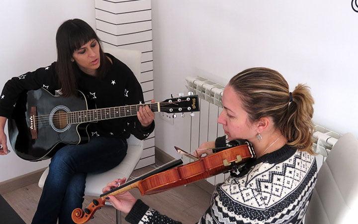 Judith y la violinista