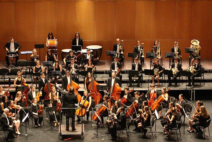 La Joven Orquesta JOSCDS en directo