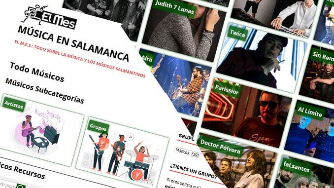 Listado de grupos salmantinos en EL MES