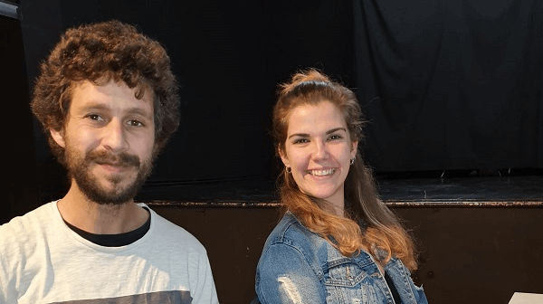 """Lectores por el Mundo. """"Relatos teatrales"""" con Teseo y Marta de Espacio La Bulé."""