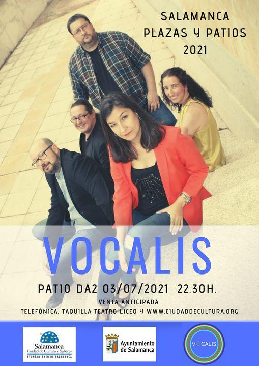 Vocalis cartel concierto da2 3 Julio 2021