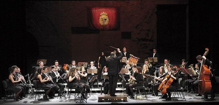 La Banda Municipal de Salamanca en el Teatro Liceo