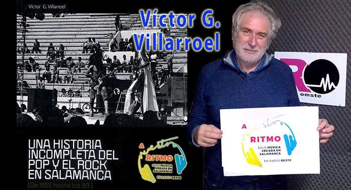 Víctor Villarroel, arqueólogo musical y colaborador de A Nuestro Ritmo