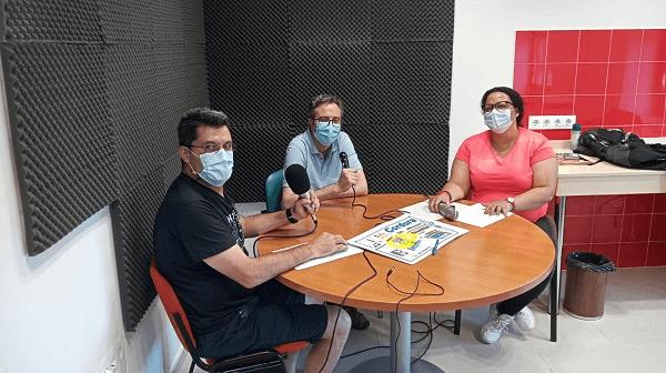 """Participando en Radio Oeste con """"Enajenación"""". Dia Mundial de la Salud Mental."""