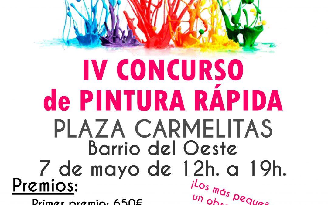 """Se suspende el Concurso de Pintura Rápida """"Plaza de Carmelitas"""""""