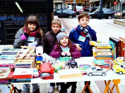 Para el Mercadillo Infantil Solidario